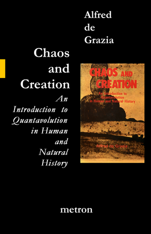 chaos and creation by alfred de grazia metron publications
